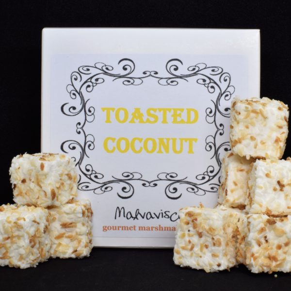 9 Toasted Coconut Marshmallows
